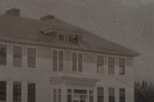 schoolhouse bell prank graphic