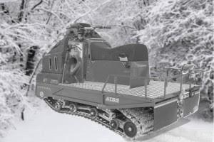 2 track snowmobile