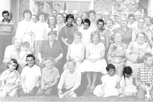 degerstrom family siblings in 1957