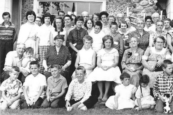 parkman family reunion photo