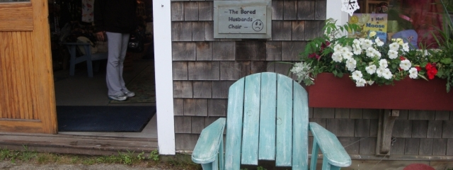 maine giftshop bored husbands chair