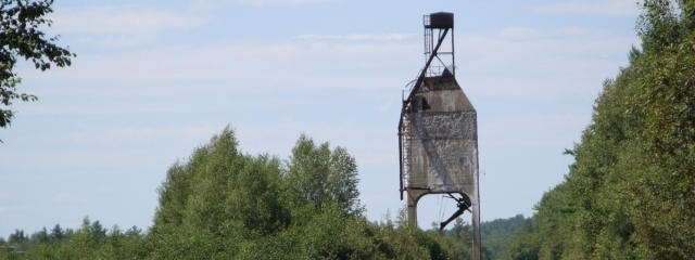 railroad coal tower derby maine